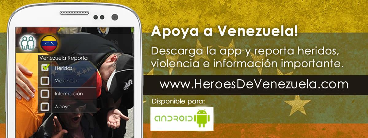 Apoya a Venezuela